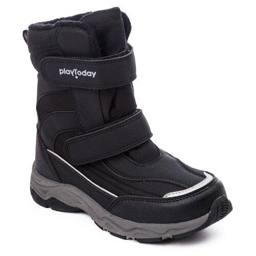 Сапоги playToday размер 22, черный