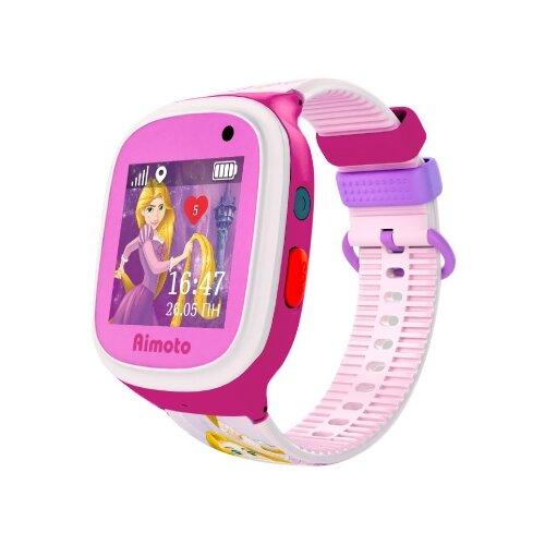 Детские умные часы c GPS Aimoto Disney Принцесса Рапунцель розовый/фиолетовый