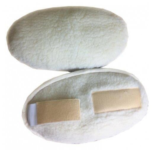 Натуротерапия Налокотник из овечьей шерсти Скипофит one size, белый