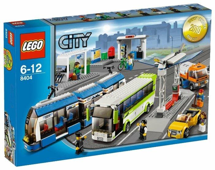 Конструктор LEGO City 8404 Общественный транспорт