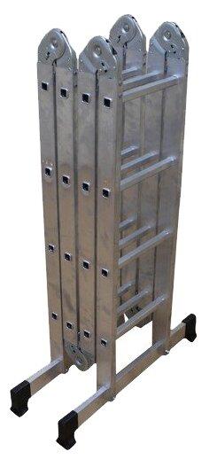 Лестница трансформер 4-секционная ВИХРЬ ЛТА 4х4