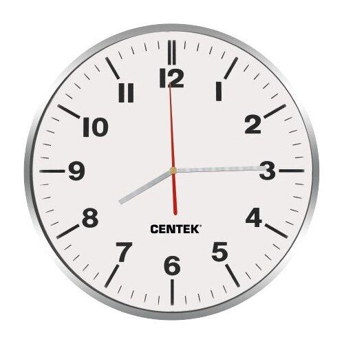 Часы настенные кварцевые CENTEK CT-7100 white