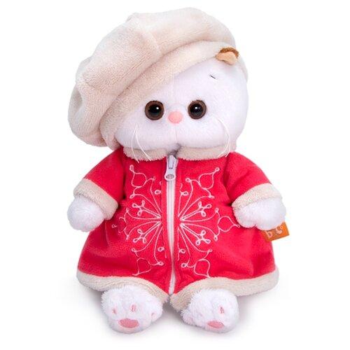 Купить Мягкая игрушка Basik&Co Кошка Ли-Ли baby в костюме со снежинкой 20 см, Мягкие игрушки