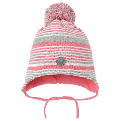Шапка playToday размер 46, светло-розовый/серый шапка playtoday размер 46 сиреневый