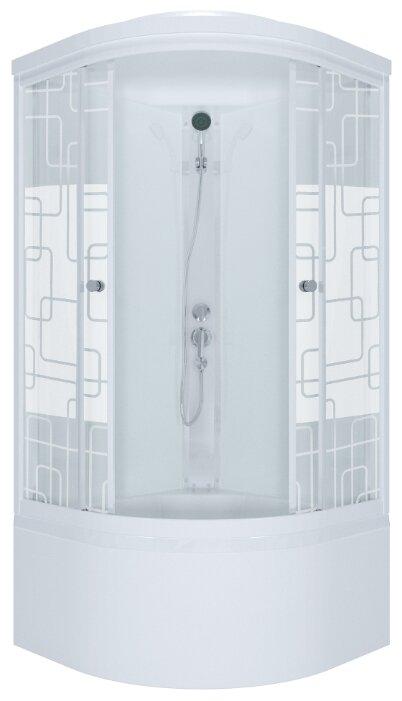 Душевая кабина Triton Стандарт 90x90 Б ДН3 высокий поддон 90см*90см