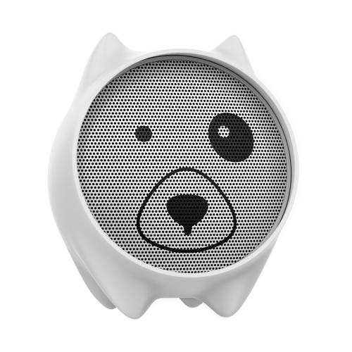 Портативная акустика Baseus Dogz white