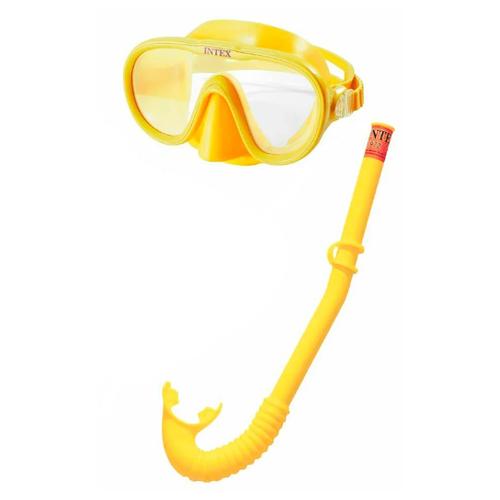 цена на Набор для плавания Intex Adventurer желтый