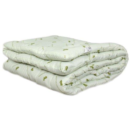 Одеяло АльВиТек Sheep Wool всесезонное зеленый 172 х 205 см