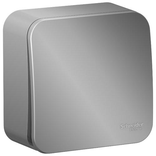 Выключатель 1-полюсный Schneider Electric Blanca BLNVA101003,10А, алюминиевый фото