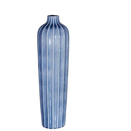 Ваза Home Philosophy Cassian (F51707), голубой home philosophy ваза кувшин melanie цвет зеленый 16х16х19 см