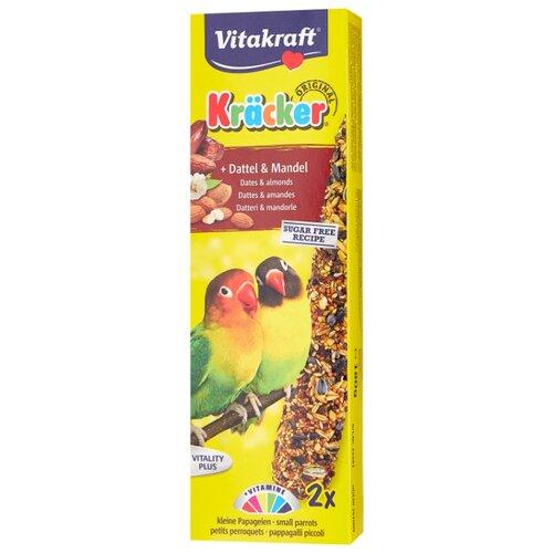 Лакомство для птиц Vitakraft Крекеры для африканских попугаев фруктовые (21283) 180 г