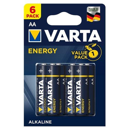 Батарейка VARTA ENERGY AA 6 шт блистер