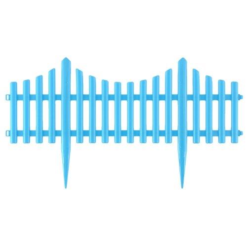 Забор декоративный PALISAD Гибкий, голубой, 3 х 0.24 м