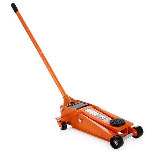 цена на Домкрат подкатной гидравлический Ombra OHT230 (3 т) оранжевый