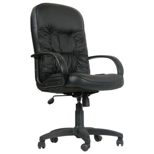 Фото - Компьютерное кресло Chairman 416 для руководителя, обивка: искусственная кожа, цвет: черный Split компьютерное кресло chairman 668 lt для руководителя обивка искусственная кожа цвет черный бежевый
