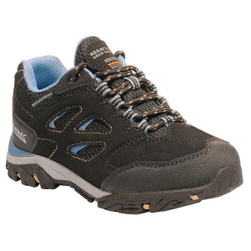 Кроссовки REGATTA размер 35, черный/голубой