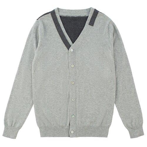 Фото - Кардиган INFUNT размер 158, серый платье infunt размер 158 серый