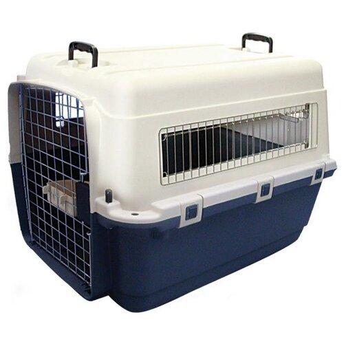 Клиппер-переноска для собак Triol Premium Giant 100х67х75 см синий/белый сумка переноска для собак triol лаура 46х26 5х28 см голубой серый