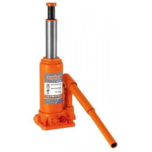 Домкрат бутылочный гидравлический Ombra OHT103 (3 т) оранжевый