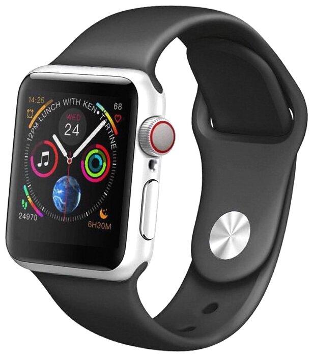 Часы IWO Smart Watch IWO 10 серебристый/черный