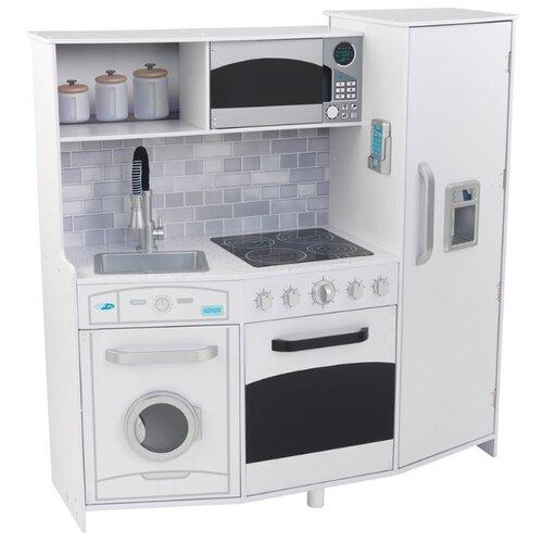 Купить Кухня KidKraft 53369 белый, Детские кухни и бытовая техника