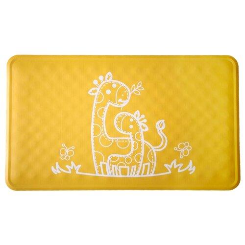 Коврик для ванны Roxy kids BM-M164Y желтый жираф