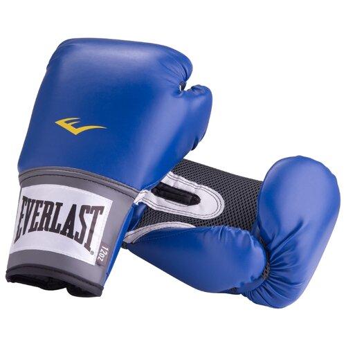 боксерские перчатки everlast pu pro style anti mb red 12 oz Боксерские перчатки Everlast PU Pro style anti-MB blue 10 oz
