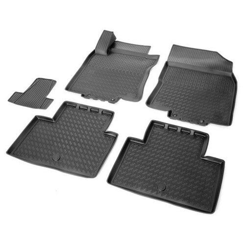 Комплект ковриков RIVAL 14109001 Nissan X-Trail 5 шт. черный