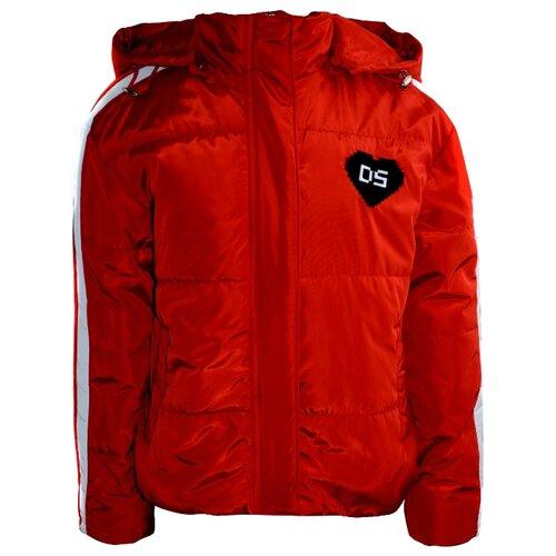 цена Куртка De Salitto 919053-N размер 140, красный онлайн в 2017 году