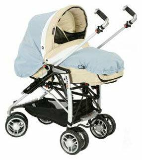 Универсальная коляска Bebecar 1X-Plus CT
