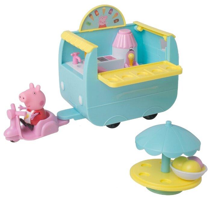 Игровой набор PEPPA PIG Палатка с мороженым
