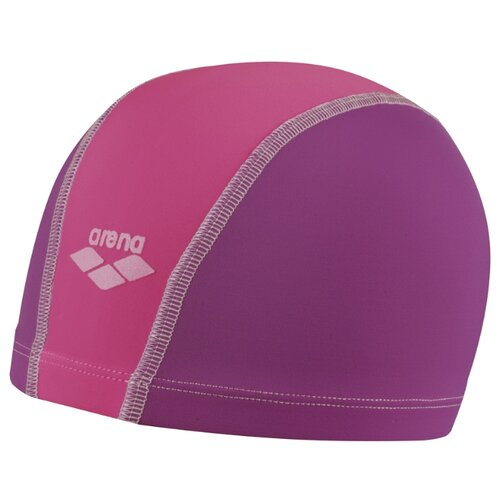 Шапочка для плавания arena Unix JR 91279 plum/fuchsia/bubble