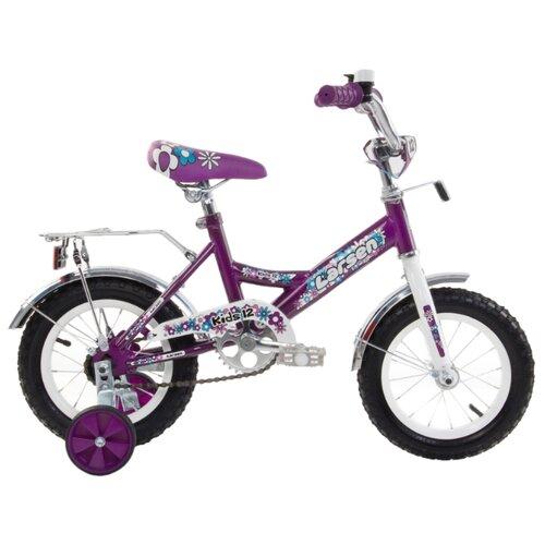 цена на Детский велосипед Larsen Kids 12 Girl (2016) фиолетовый (требует финальной сборки)