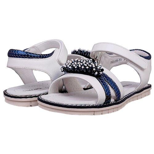 Босоножки T.Taccardi размер 31, белый/темно-синийБосоножки, сандалии<br>