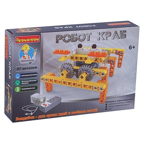Электромеханический конструктор BONDIBON ВВ3495 Робот Краб