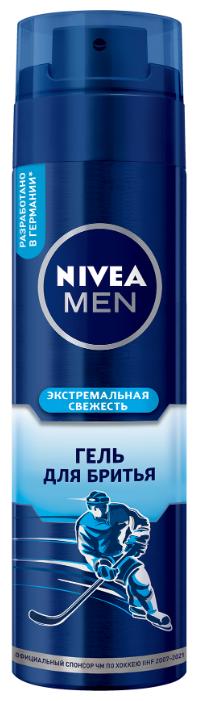 Гель для бритья Экстремальная свежесть Nivea