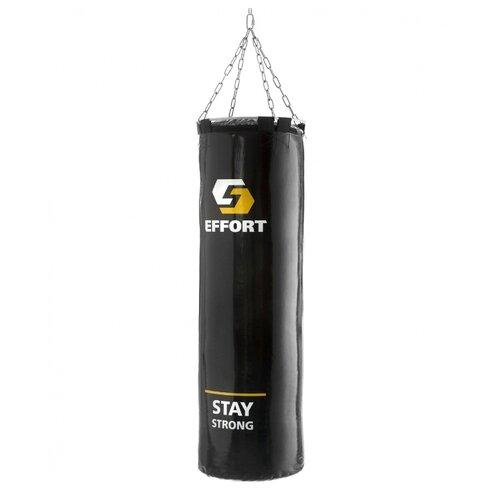 Мешок боксёрский Effort E255 черный мешок боксёрский ufc боксерский 45 кг без наполнителя черный