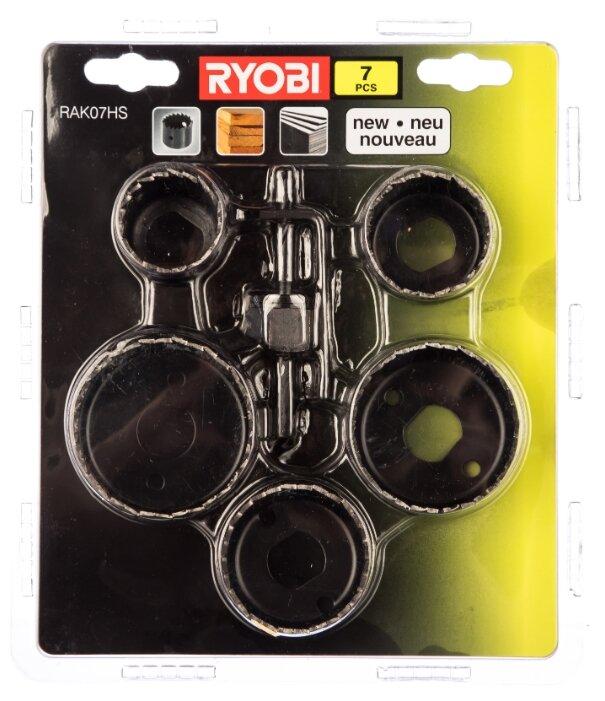 Набор коронок RYOBI RAK07HS