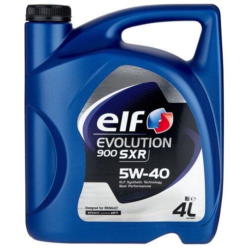 Моторное масло ELF Evolution 900 SXR 5W-40 4 л elf масло моторное elf evolution 900 sxr 5w 30 60 л
