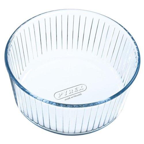 Форма для выпечки стеклянная Pyrex 833B000 (21х10 см) прозрачный форма для выпечки pyrex