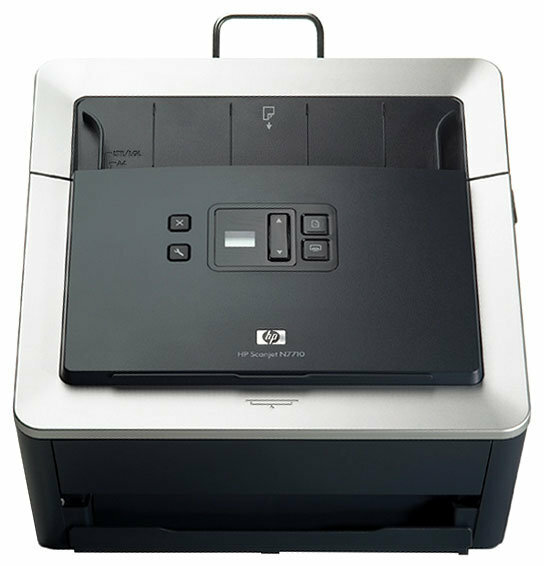 Сканер HP ScanJet N7710