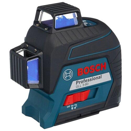 Лазерный уровень самовыравнивающийся BOSCH GLL 3-80 Professional (0601063S00) уровень bosch gll 3 80c 15м 0601063r00