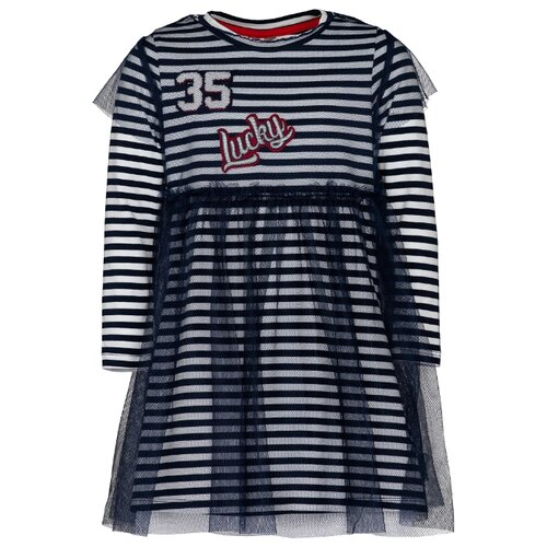 Платье Gulliver размер 98, синий