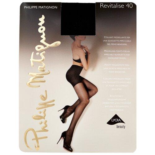 Колготки Philippe Matignon Revitalise 40 den, размер 4-L, nero (черный) колготки philippe matignon nudite crystal 30 den размер 4 l nero черный