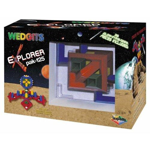 Конструктор WEDGiTS 300060 eXplorer Pak-125 wedgits конструктор imagination set