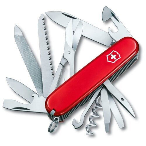Нож многофункциональный VICTORINOX Ranger (21 функций) красный нож многофункциональный victorinox ranger camping 21 функций красный