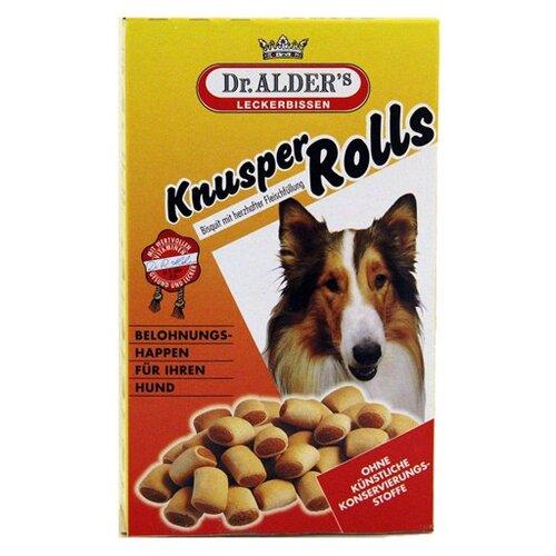 Лакомство для собак Dr. Alder`s Knusper Rolls с говядиной, 500 г dr konopka s шампунь питательный 500 мл