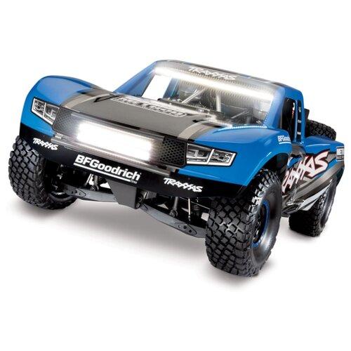 Купить Гоночная машина Traxxas Unlimited Desert Racer (85086-4) 1:7 69.4 см синий, Радиоуправляемые игрушки