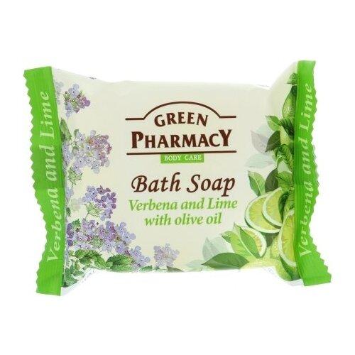 Купить Мыло кусковое Green pharmacy Вербена и лайм с оливковым маслом, 100 г