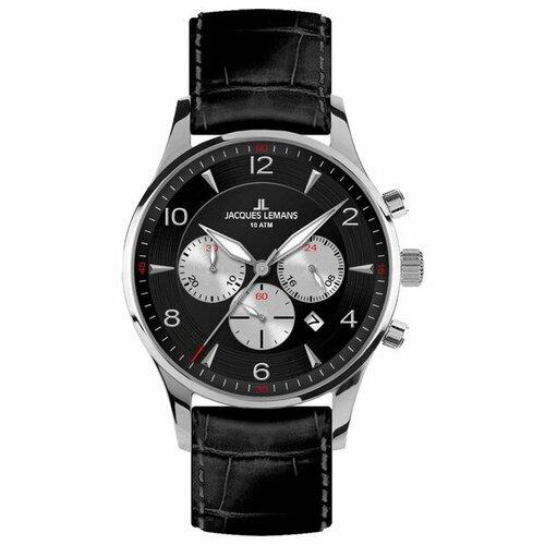 Наручные часы JACQUES LEMANS 1-1654A jacques lemans часы jacques lemans 1 1117bn коллекция liverpool